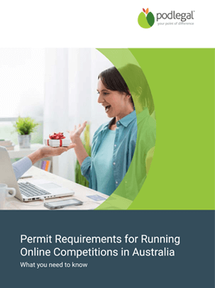 Permit Requirements for Online Competitions Ebook - Pod Legal Australia